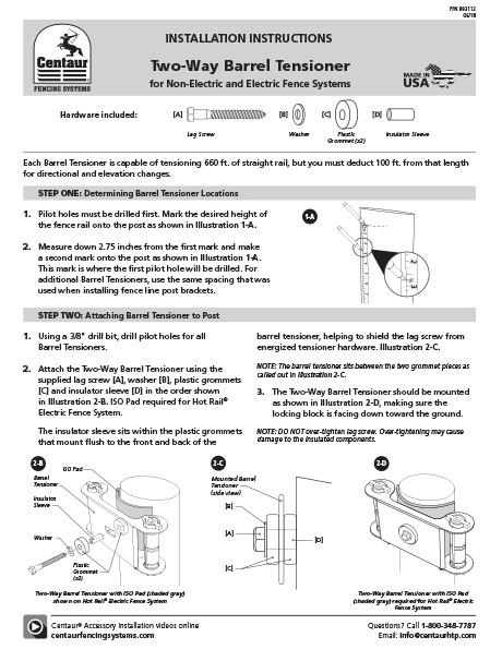 Installation documents